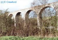Pinmore Viaduct south of the former Pinmore station.<br><br>[Ewan Crawford&nbsp;//]