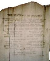Memorial to miners killed in the Stanrigg Pit Disaster.<br><br>[Ewan Crawford&nbsp;//]
