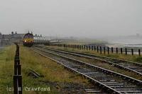 Alcan train approaching North Blyth bauxite train-loading terminal.<br><br>[Ewan Crawford&nbsp;//]