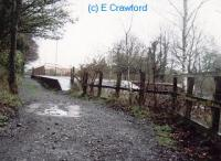 Looking east at Brampton station from the former trackbed of the line to Brampton Town.<br><br>[Ewan Crawford&nbsp;//]