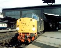 <I>Come on, come on...</I> D229 running late at Carlisle - 12 August 1969.<br><br>[John Furnevel&nbsp;12/08/1969]