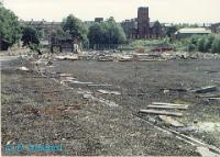 The former EMU depot at Hyndland after demolition. The Hyndland terminus station was to the right. The site is now built on.<br><br>[Ewan Crawford&nbsp;//1988]