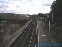 Looking west at Maryhill Park (now Maryhill) station.<br><br>[Garth Ponsonby&nbsp;//]