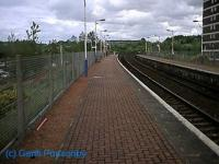 Looking east at the new Summerston station.<br><br>[Garth Ponsonby&nbsp;//]