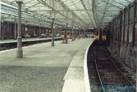 Looking towards the buffers at Helensburgh Central.<br><br>[Ewan Crawford&nbsp;//]
