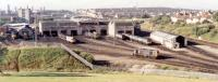 Eastfield MPD from the north in 1990.<br><br>[Ewan Crawford&nbsp;//]