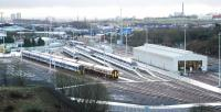 The new depot at Eastfield in operation in January 2005.<br><br>[Ewan Crawford&nbsp;02/01/2005]