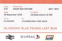 Tickets and labels 30/12/2002