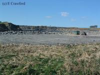 Greenburn opencast looking north before the railway was re-instated.<br><br>[Ewan Crawford&nbsp;//]