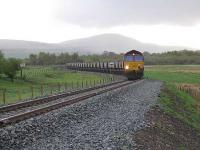 The first test train heads to Greenburn having just passed Creoch Junction.<br><br>[Kier Construction&nbsp;//]