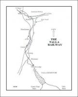 A map showing the route of the Talla Railway at the beginning of the 20th century running south from the junction with the Symington, Biggar and Broughton Railway to the terminus at Victoria Lodge.   <br><br>[John Furnevel&nbsp;01/02/2006]