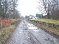 The former Glenoglehead Station looking towards Killin Junction. The building is now two dwellings.<br><br>[John Gray&nbsp;30/03/2005]
