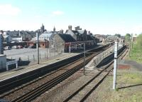 View north over Lockerbie station in May 2002.<br><br>[John Furnevel&nbsp;31/05/2002]