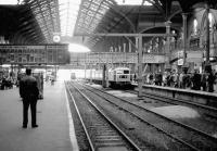 Afternoon arrival at Liverpool Street in October 1976. <br><br>[John Furnevel&nbsp;23/10/1976]