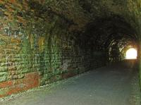 A view through Taminurie Tunnel looking south towards Aberlour.<br><br>[John Gray&nbsp;27/07/2008]