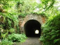 North portal of Taminurie Tunnel looking south towards Aberlour.<br><br>[John Gray&nbsp;27/07/2008]