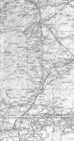 <B>FlandersMoss</B> OS sheet of 1924 (part) showing the Strathendrick and Aberfoyle Railway crossing Flanders Moss from Killearn to Aberfoyle. There is a very pleasant flat walk along the Forestry Commission trail.<br><br>[Alistair MacKenzie&nbsp;18/07/2008]