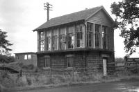 Signal box at Kippen circa 1962.<br><br>[Colin Miller&nbsp;//1962]