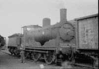 Caley Jumbo no. 57360 in steam at Polmadie MPD in July 1962. <br><br>[John Robin&nbsp;20/07/1962]
