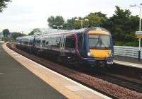 170 456 with a Fife Circle line service at Kirkcaldy on 31 July 2008.<br><br>[David Panton&nbsp;31/07/2008]