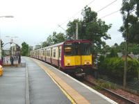 314 212 bound for Newton stops at Langside on 9 August 2008.<br><br>[David Panton&nbsp;09/08/2008]