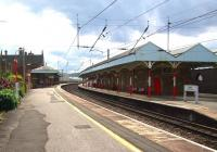 View south at Penrith station on 16 August 2008.<br><br>[Don Smith&nbsp;16/08/2008]