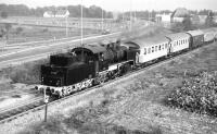 24083 returning with a train to Gutersloh Nord on 15 October 1977 along a private line, the Teutoburgher Wald.<br><br>[Peter Todd&nbsp;15/10/1977]