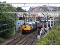 40.145 with SRPS tour at Helensburgh Central<br><br>[John Robin&nbsp;24/08/2008]
