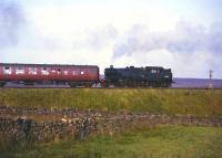 Fairburn 2-6-4T 42210, photographed on Shap in the early 1960s, assisting a heavy passenger train up the bank. <br><br>[Robin Barbour collection (Courtesy Bruce McCartney)&nbsp;//]