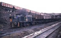 Barclay diesel shunting at Westoe Colliery, South Shields.<br><br>[Ian Dinmore&nbsp;//]