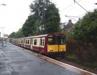 314 216 on the Inner Cathcart Circle route calls at Shawlands on 20 August 2008<br><br>[David Panton&nbsp;20/08/2008]