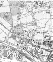 <B> Dalmuir </B> Map of 1922 showing NBR lines in Dalmuir including Dalmuir Riverside Station, next to which was the Beardmore Factory which was variously a ship builders, ship breakers and railway wagon breakers.<br><br>[Alistair MacKenzie&nbsp;28/08/2008]