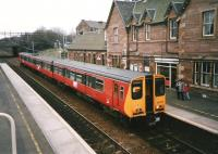 314 213 calls at Uddingston with a Dalmuir service in March 1998.<br><br>[David Panton&nbsp;19/03/1998]