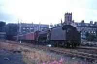 44992 brings empty stock for a boat train into Princes Pier station in 1965. <br><br>[G W Robin&nbsp;25/08/1965]
