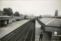 C.R. 4.4.0 M14476 at Comrie station. Entering from Crieff.<br><br>[G H Robin collection by courtesy of the Mitchell Library, Glasgow&nbsp;10/06/1950]
