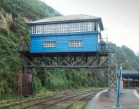 The signal box at Waterford in 1993.<br><br>[Bill Roberton&nbsp;//1993]