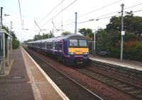 The afternoon service from North Berwick to Glasgow Central via Carstairs calls a Wester Hailes on 27 September formed by unit 322 484.<br><br>[David Panton&nbsp;27/09/2008]