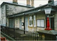 <I>The Gallery</I> at Markinch station in July 1998.<br><br>[David Panton&nbsp;05/07/1998]