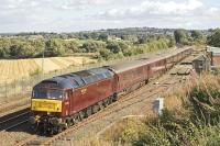 WCRC 47826 with a <i> Royal Scotsman </i> Western tour sits in the loop at Manuel on 14 September 2007<br><br>[James Young&nbsp;14/09/2007]