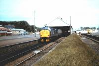 37261 about to take a train out of Wick on 13 June 1983.<br><br>[Colin Alexander&nbsp;13/06/1983]