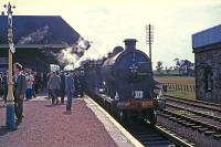 Glen Douglas at Leuchars Junction with RCTS Fife Coast Tour from Glasgow St Enoch.<br><br>[G W Robin&nbsp;28/08/1965]