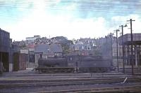 J36 0-6-0 65297 at Bathgate shed in August 1965.<br><br>[G W Robin&nbsp;28/08/1965]