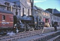 78054 at St Leonards with the 1965 Scottish Rambler. <br><br>[G W Robin&nbsp;19/04/1965]