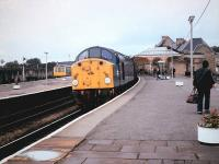 40004 on 1E23 for Leeds at Skipton on 9th September 1983.<br><br>[Colin Alexander&nbsp;09/09/1983]