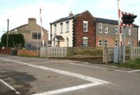 No longer recognisable as a former railway station is Picton (closed 1960), on the Leeds Northern direct route between the ECML at Northallerton and Teesside. This was once the junction for the route east via Battersby to Whitby. View southeast on 3 October 2008, with the name on the <I>John Smiths</I> hostelry in the background continuing to provide the historical link.  <br><br>[John Furnevel&nbsp;03/10/2008]