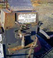 Part of the turntable mechanism at Perth New Yard in October 2008. The old turntable has been donated to the SRPS, Boness, by EWS. <br><br>[Gary Straiton&nbsp;/10/2008]