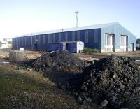 The C&W shed at Perth New Yard in October 2008.  <br><br>[Gary Straiton&nbsp;/10/2008]
