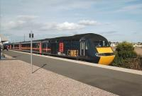 Up GNER HST at Leuchars on 19 September 2007 with an Aberdeen - Kings Cross service.<br><br>[David Panton&nbsp;19/09/2007]