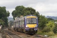 A class 170 leaves Linlithgow with a Dunblane - Edinburgh service on 24 August 2007<br><br>[James Young&nbsp;24/08/2007]