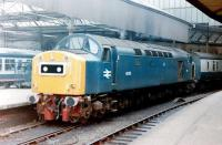 40155 in west end bay platform 5 at Newcastle Central in 1983<br><br>[Colin Alexander&nbsp;//1983]